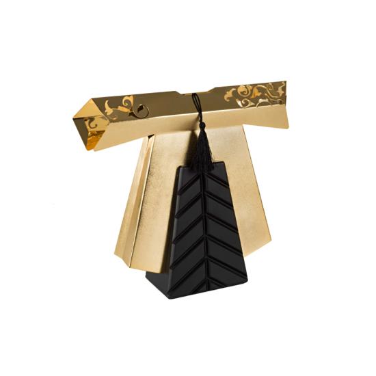 Efendi Kaftan Dekoratif Obje Orta Boy Altın Kaplama Ahşap