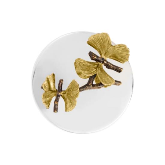 Michael Aram Butterfly Ginkgo Mum Altın ve Gümüş Kaplama