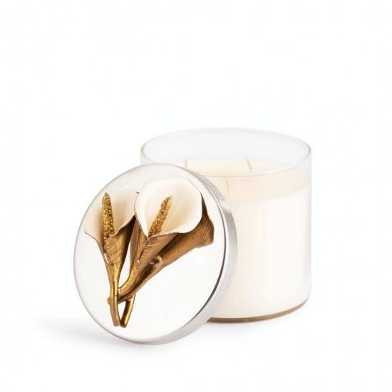 Michael Aram Calla Lily Mum Altın/Gümüş Kaplama