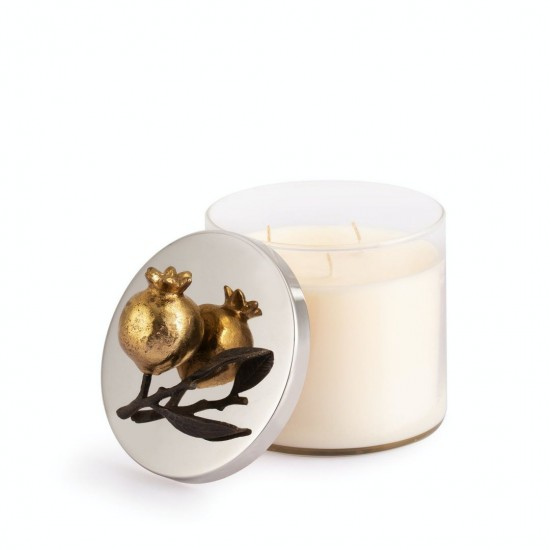 Michael Aram Pomegranate Mum Altın ve Gümüş Kaplama