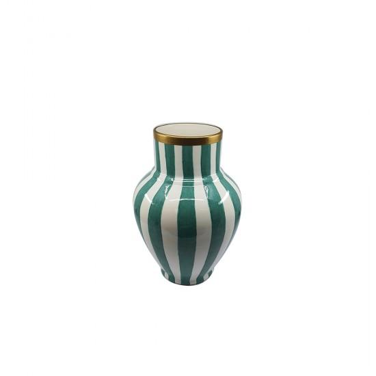 Zebra Desen Klasik Vazo