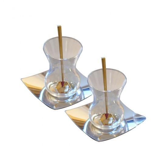 Çay Takımı Zarafet 2'li