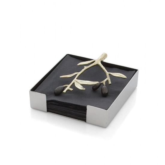 Michael Aram Olive Peçetelik Gümüş ve Altın Kaplama