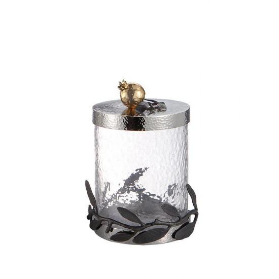 Michael Aram Pomegranate Kutu Küçük Boy Gümüş ve Altın Kaplama