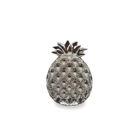 Tabak Ananas Küçük Boy Gümüş Kaplama