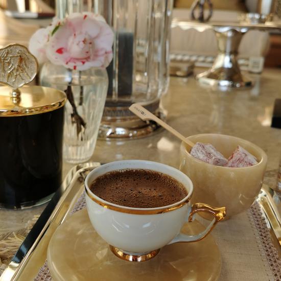 Cevher Kahve Keyifliği Takımı Gümüş Kaplama (5 parça)