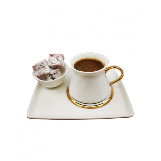 Coffee Cup Set For 2 (6 pcs)