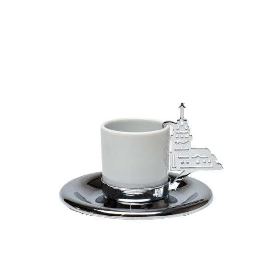 Kız Kulesi Kahve Fincanı Koleksiyonerlere Özel Krom Kaplama
