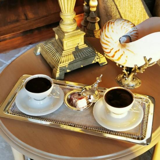 Simin Kahve Keyifliği Takımı 2'li Gümüş Kaplama
