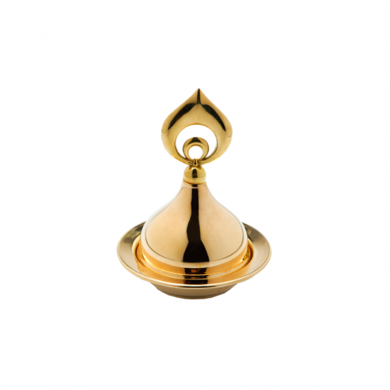 Katre Mini Lokumluk Altın Kaplama