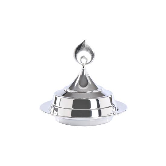 Pare Sahan Küçük Boy Gümüş Kaplama