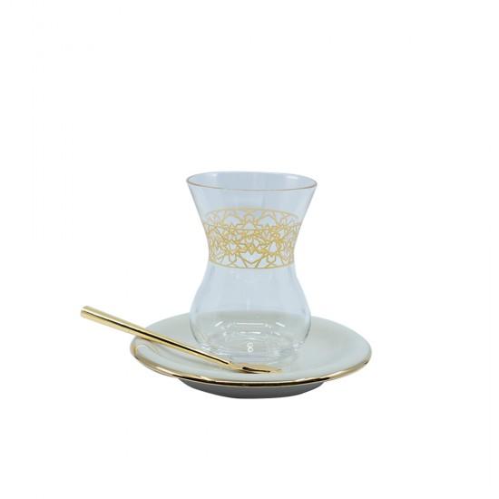 Elmas Çay Bardak Takımı