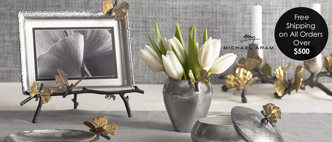 The Elegance is at Your Home with Michael Aram Products