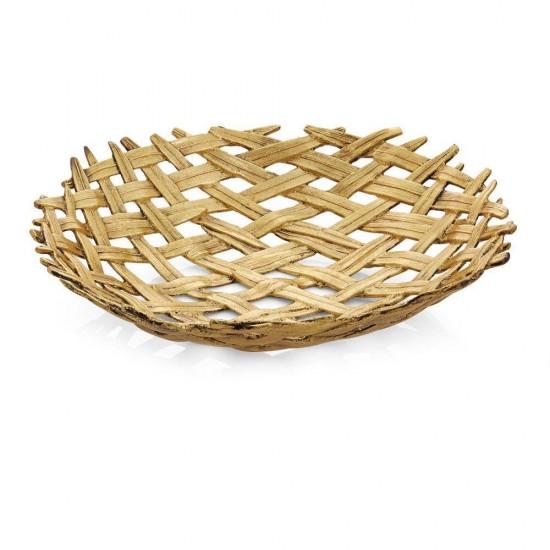 Kase Örgülü Palm Altın Kaplama
