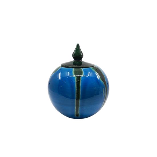 Küre 10 Cm Mavi / Turkuaz / Yeşil Dekor